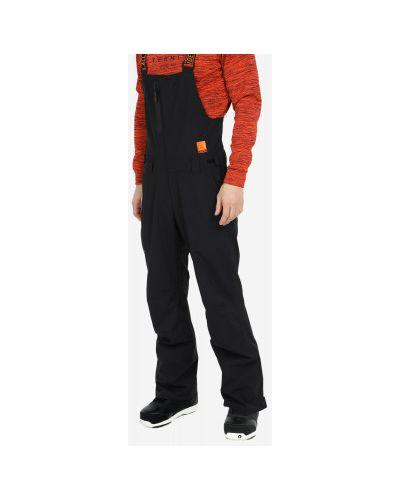 Черные утепленные спортивные брюки свободного кроя Termit