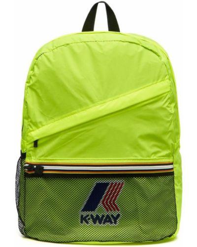Żółty plecak K-way