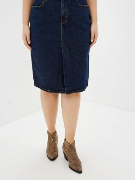 Джинсовая юбка весенняя Zarina