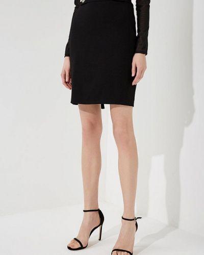 Черная юбка Versace Jeans