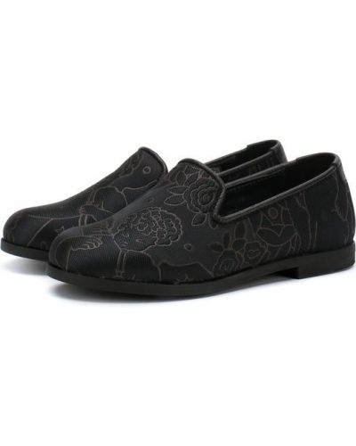 Лоферы кожаный Dolce & Gabbana