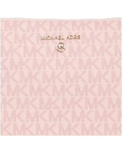 Różowa kopertówka Michael Kors