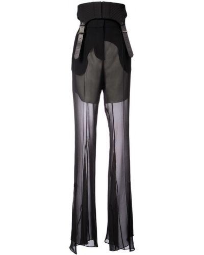 Шелковые брюки - черные Vera Wang