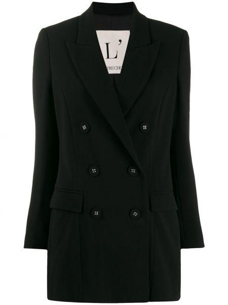 Черный пиджак с манжетами L'autre Chose