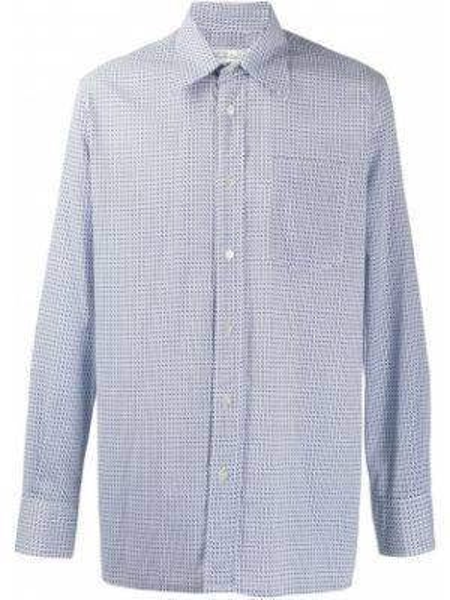 Рубашка винтажная на пуговицах Pierre Cardin Pre-owned