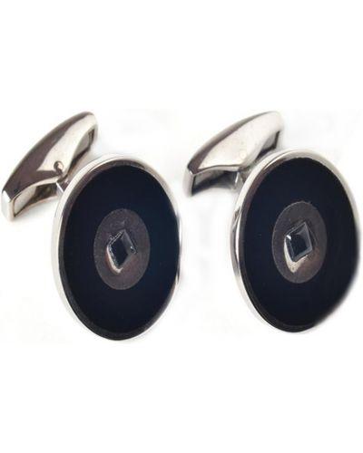 Серебряные запонки Tateossian