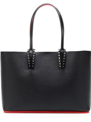 Кожаная сумка маленькая сумка-тоут Christian Louboutin
