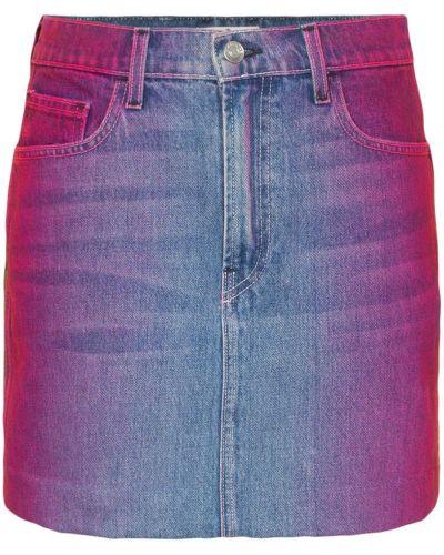 Плиссированная классическая юбка мини на молнии с карманами Jordache