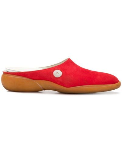 Красные замшевые туфли Louis Vuitton Pre-owned