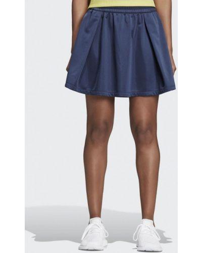 Юбка синяя Adidas Originals