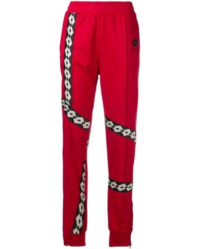 Зауженные спортивные брюки - красные Damir Doma