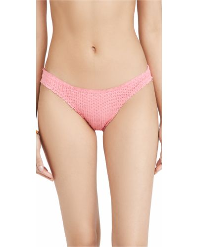 Розовые бикини для полных с подкладкой Vix Swimwear