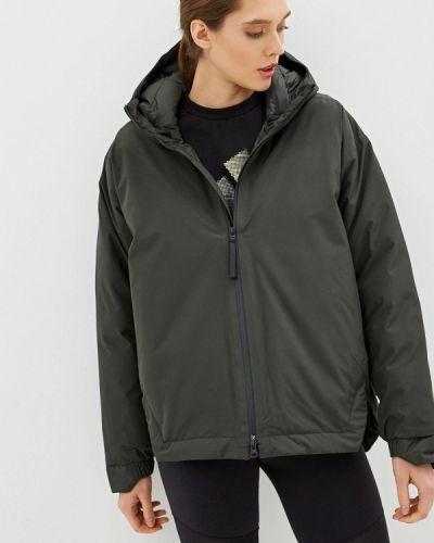 Зимняя куртка осенняя утепленная Adidas