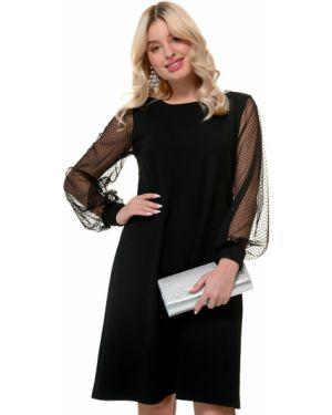 Платье в горошек сетчатое Nikol