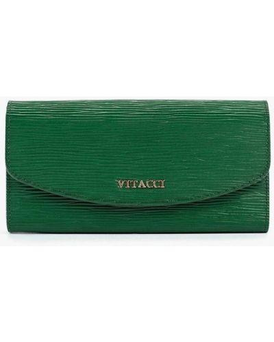 Зеленый кошелек Vitacci
