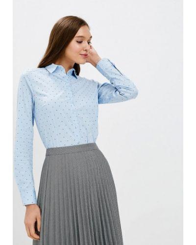 Голубая блузка с длинным рукавом Zarina