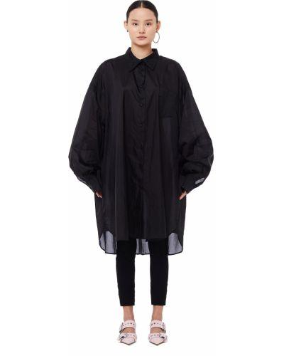 Блузка черная Maison Margiela