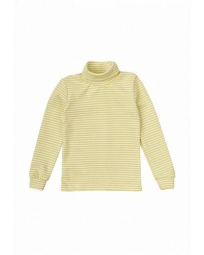 Желтый свитер фламинго текстиль