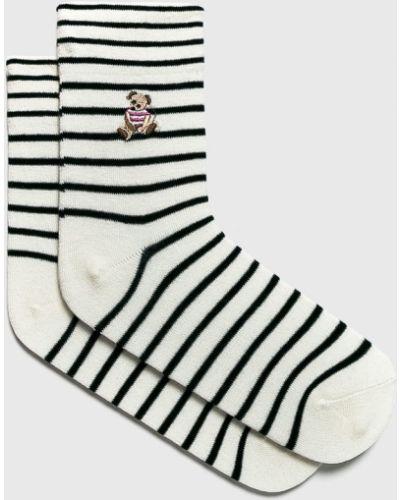 Хлопковые носки - белые Fulloff