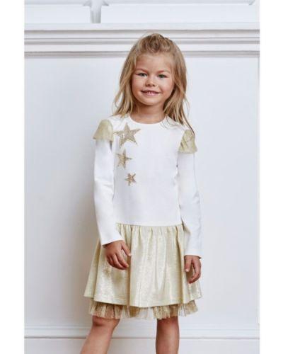 Платье с рукавами хлопковое с подкладкой смена