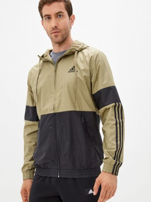 Зимняя ветровка хаки Adidas