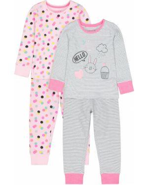 Пижама в горошек розовый Mothercare