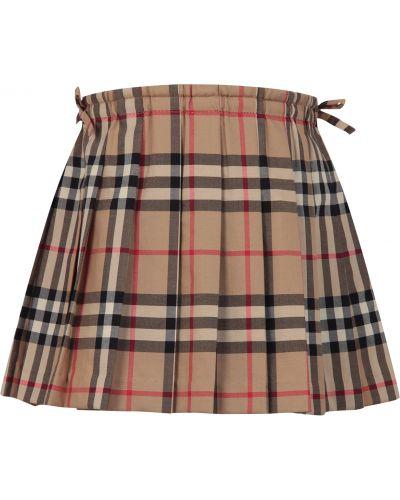 Черная юбка Burberry