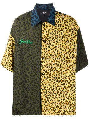 Koszula krótkie z krótkim rękawem klasyczna jedwab Just Don