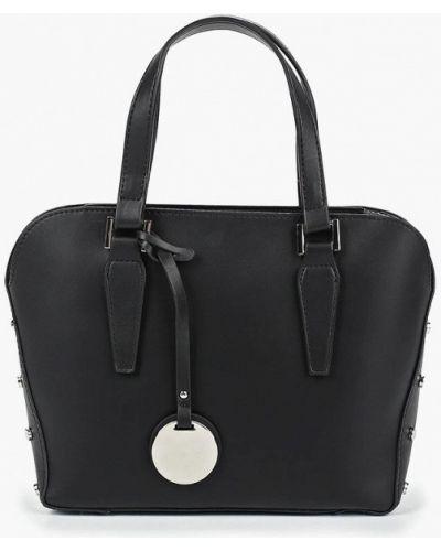 Кожаный сумка через плечо черная Dorothy Perkins