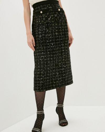 Черная прямая юбка карандаш Sister Jane