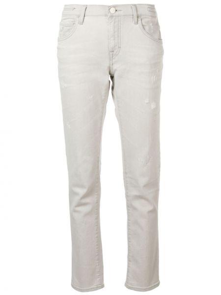 Прямые серые джинсы с низкой посадкой Jacob Cohen