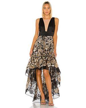 Вечернее платье с пайетками сетчатое Bronx And Banco