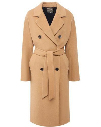 Пальто двубортное с поясом Tommy Hilfiger