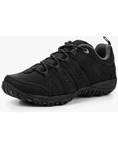 Черные кроссовки низкие Columbia