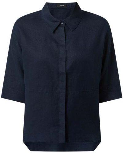 Bluzka krótki rękaw - niebieska Opus