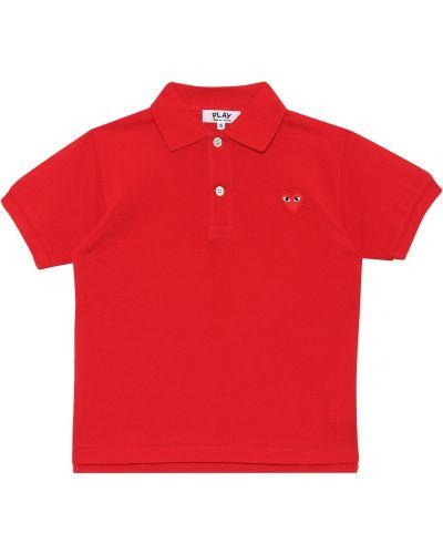 Bawełna bawełna koszulka polo Comme De Garã§ons Play Kids