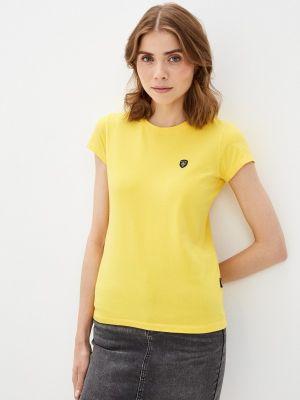 Желтая футболка Galvanni