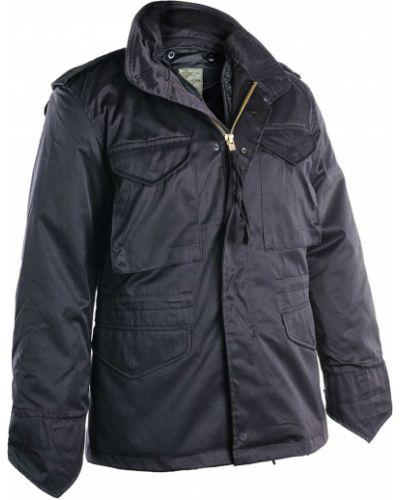 Куртка милитари - черная Mil-tec