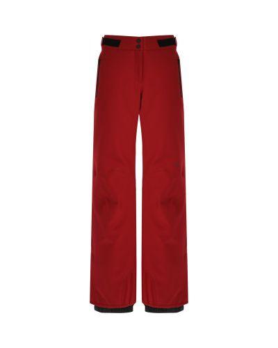 Красные спортивные брюки на молнии VÖlkl