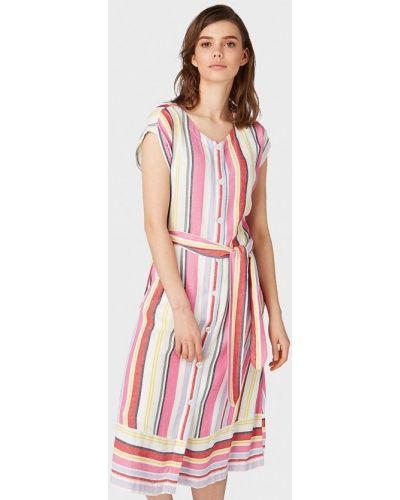Разноцветное платье Tom Tailor