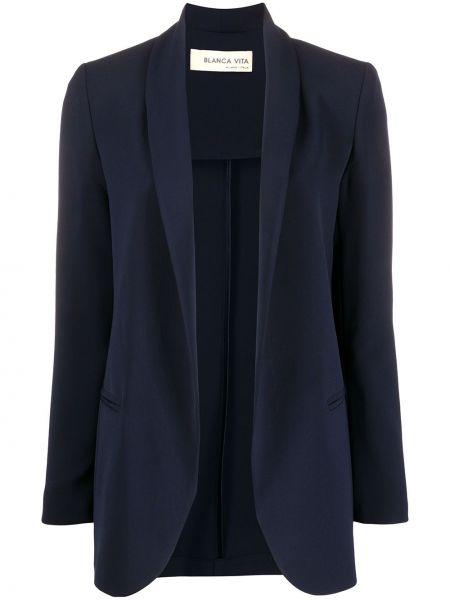 Garnitur kostium niebieski Blanca Vita