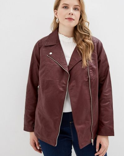 Кожаная куртка - красная Dorothy Perkins Curve