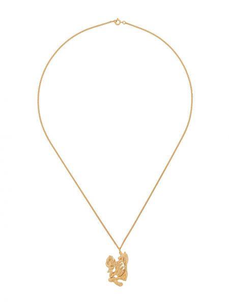 Ażurowy złoty naszyjnik Loveness Lee
