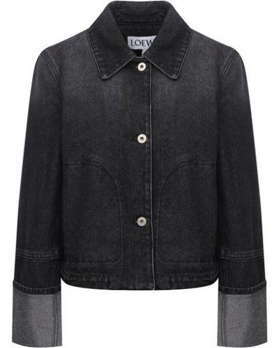 Хлопковая джинсовая куртка Loewe