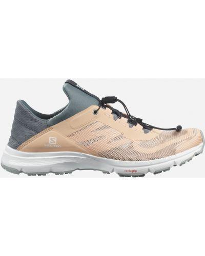 Спортивные кроссовки - бежевые Salomon