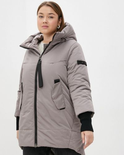 Утепленная куртка - бежевая Grafinia