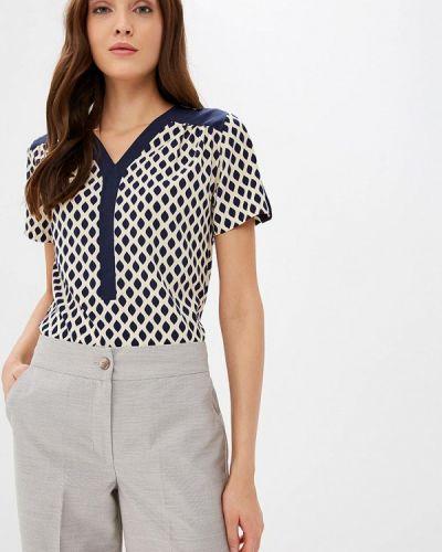Блузка с коротким рукавом весенний бежевый Grafinia