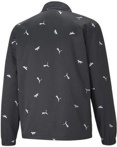 Хлопковая ветровка - черная Puma
