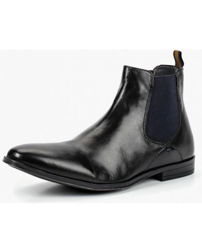 Ботинки челси осенние кожаные Burton Menswear London