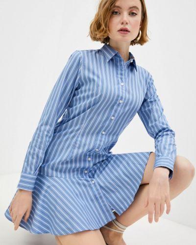Платье - голубое Lauren Ralph Lauren